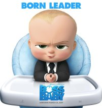 The Boss Baby (31 Maret) - Alex Baldwin dan Lisa Kudrow ambil bagian dalam film animasi komedi mengenai seorang bayi dengan kekuasaan besar.